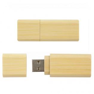 clé usb classique bois